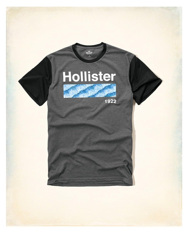 Black t shirts hollister - Black T Shirts Hollister 41