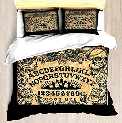 f632b71bd NTCBED Angel of Death Ouija Board - Duvet Cover Set Soft Comforter Cover  Pillowcase Bed Set