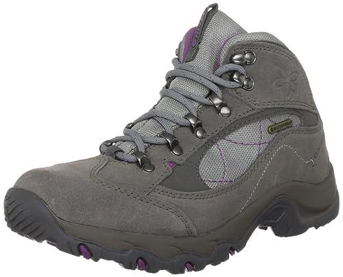 Hi-Tec Merlin Wp O001707/052/01 - Zapatillas de senderismo de ante para mujer, color gris, talla 37: Amazon.es: Zapatos y complementos