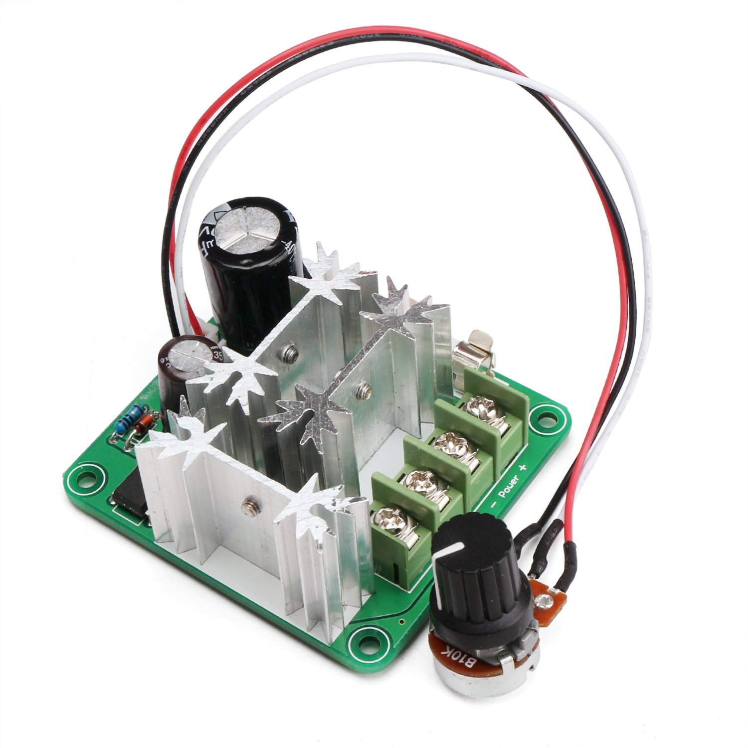 Best Rated In Motor Speed Controllers Helpful Customer Reviews Design And Construction Of A Remote Controlled Fan Regulator From Drok Dc Control 6v 90v 15a 1000w 16khz Pwm Controller 12v 36v