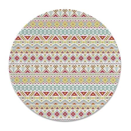 YOLIYANA - Plato Decorativo de cerámica con diseño Tradicional de ...