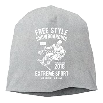 2f68edd5483 YUYU Momen Free Style Snowboarding Elastic Jogging Ash Beanies Caps Hats