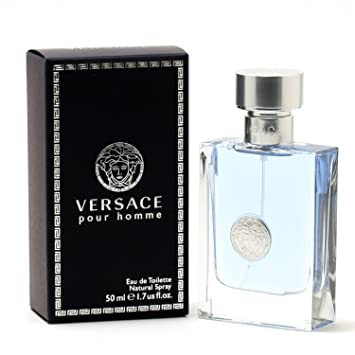 Amazon.com   Versace Pour Homme EDT Spray, 1.7 oz   Eau De Toilettes    Beauty 5d9d972e64e