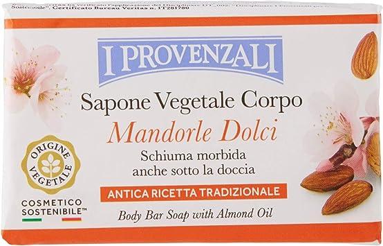 sapone solido all'olio di mandorle dolci profumato