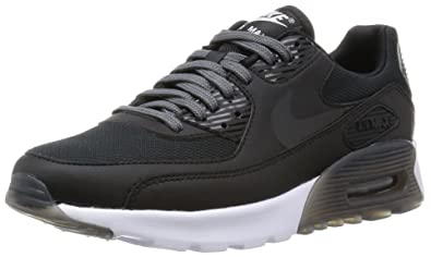 best service edb7a e051a Nike Womens Air Max 90 Ultra Essential Black Black Dark Grey Pr Platinum