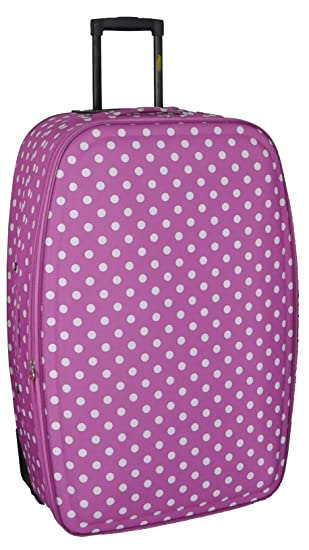 Frenzy Large 32 Inch Lightweight Expandable Suitcase Bag (Purple ...