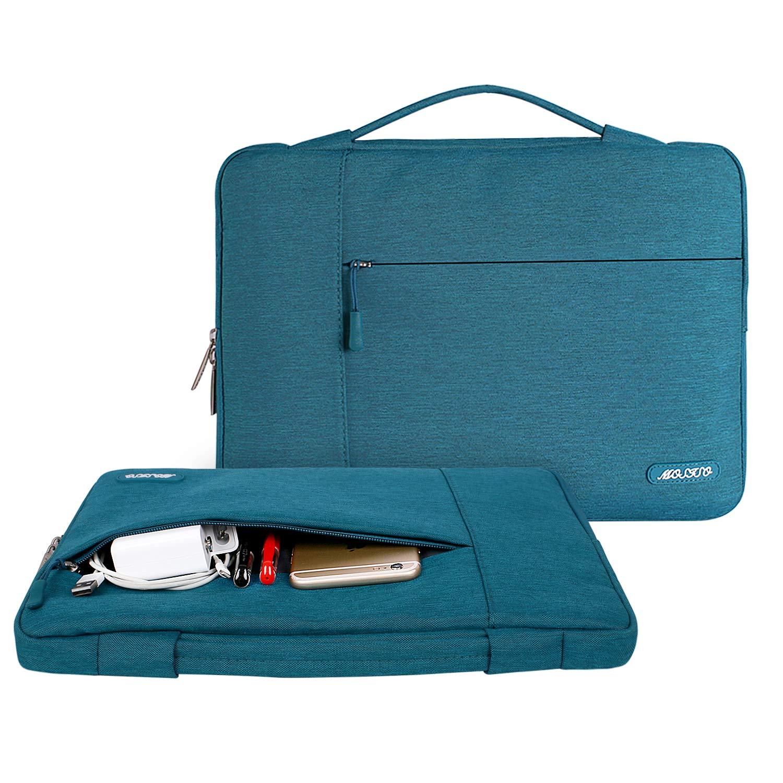 MOSISO 13-13,3 Pouces Housse Compatible MacBook Air 13//MacBook Pro Retina 13//MacBook Pro 13 avec CD-Rom Capulet Olive Laptop Sleeve Multifonctionnel Sac /à Main en Polyester