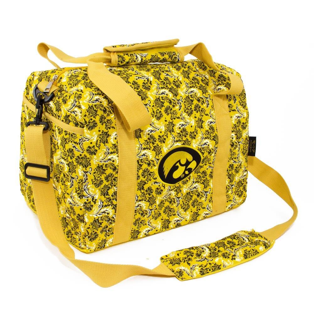 NCAA Iowa Hawkeyes Women's Mini Duffle Bag, One Size, Multicolor