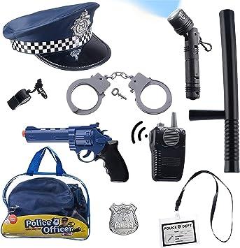 Offerta Set polizia con corpetto e accessori