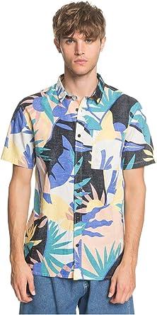 Quiksilver Tropical - Camisa de Manga Corta para Hombre EQYWT03982