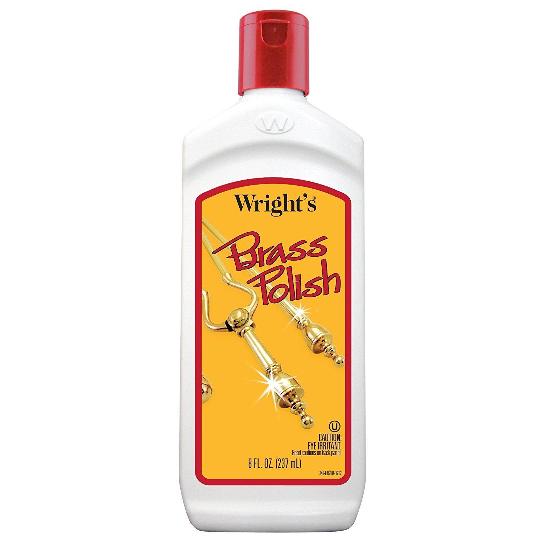 Wright's Brass Polish, 8 fl oz - Pack of 2
