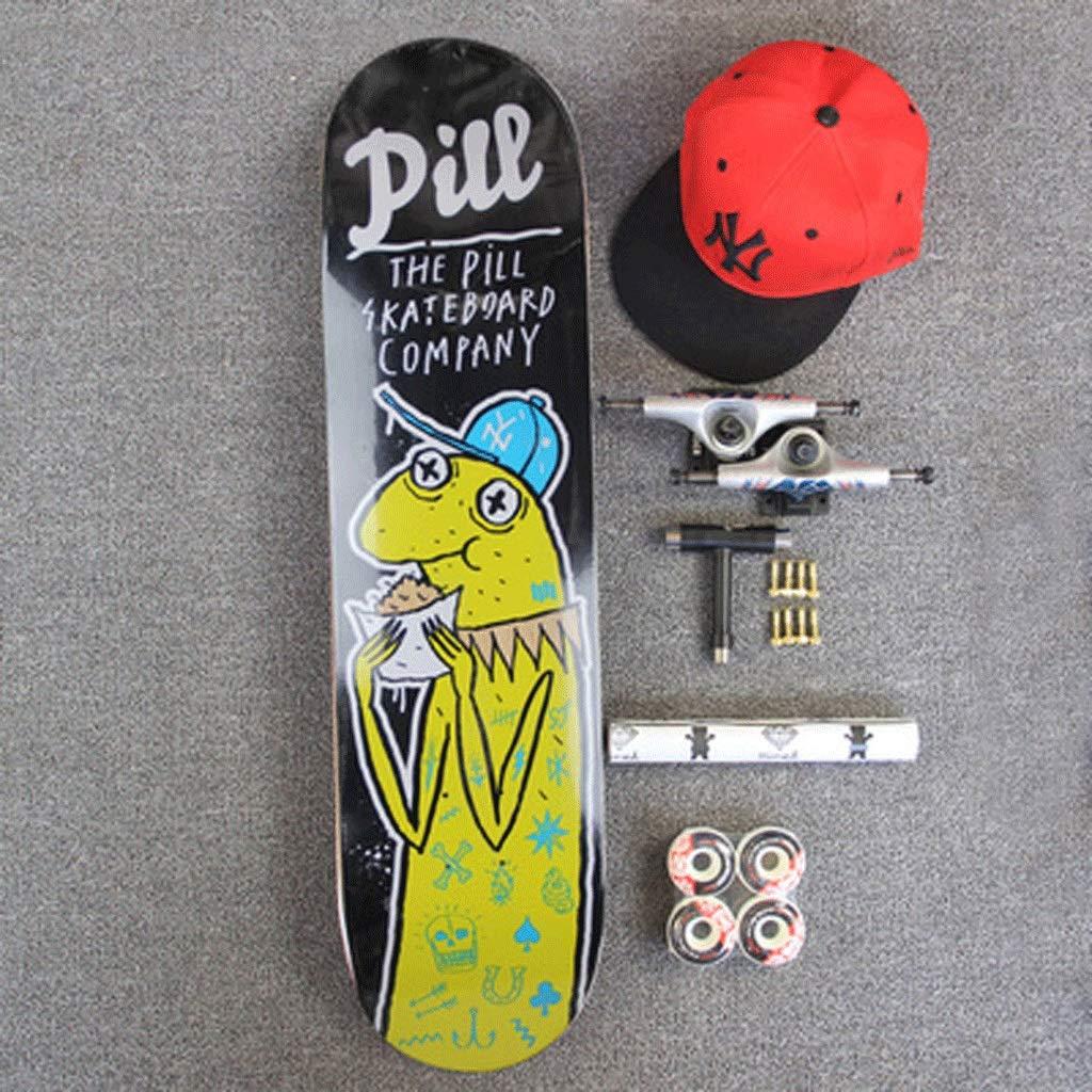 全国宅配無料 組み立てられたシニアスケートボード両側斜めボード四輪ストリートスケートボードストリートトラベルスケートボードショートボード (色 : : Noodles) いえろ゜ B07KW2K3TG イエロー いえろ゜ イエロー イエロー いえろ゜, NEXT FOCUS:f1ccf699 --- a0267596.xsph.ru