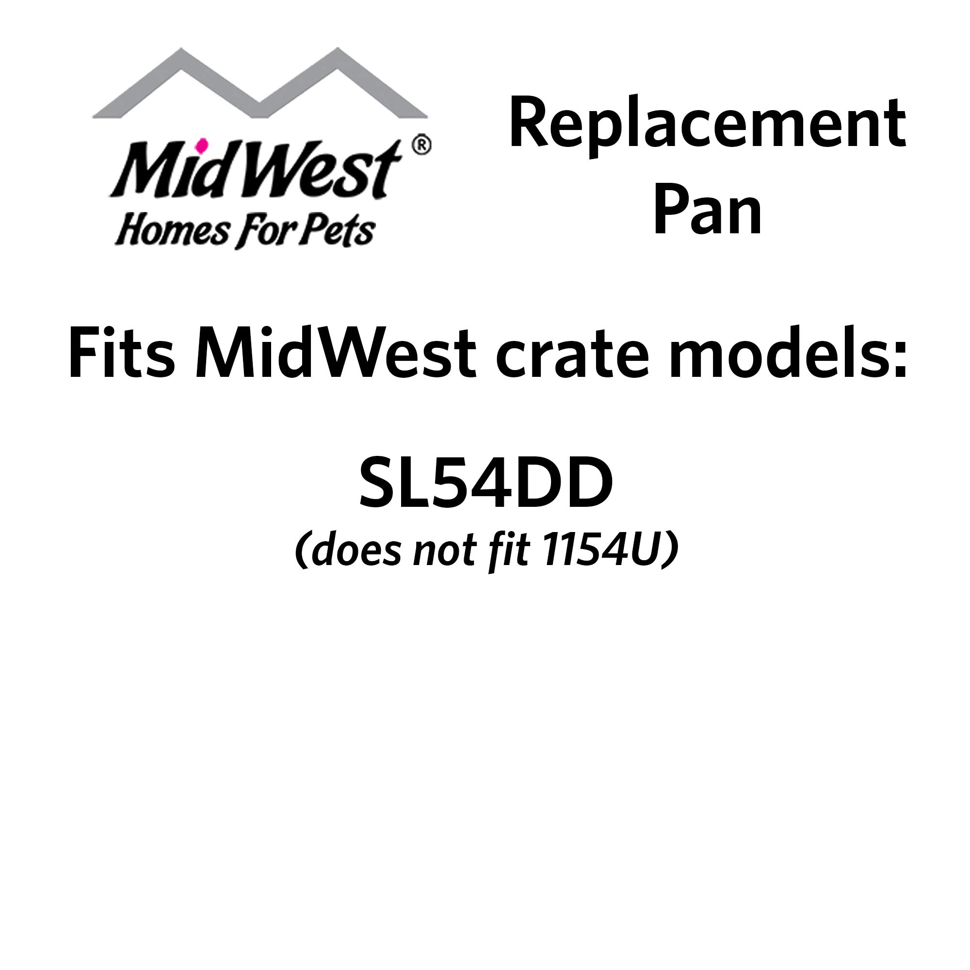 Replacement Pan for 54'' Long Midwest Dog Crate (SL54DD)