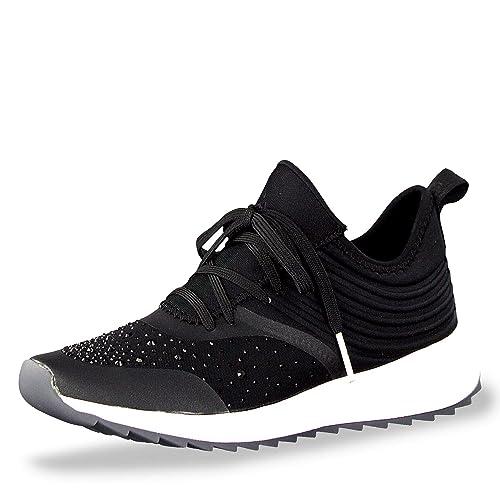Tamaris Fashletics 23707 23 Damen Sneaker aus Synthetikmaterial Touch it Sohle