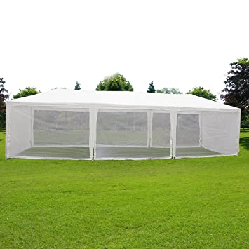 Quictent 10X30 Outdoor Canopy Gazebo Party Wedding tent Screen House Sun Shade Shelter with Fully Enclosed  sc 1 st  Amazon.com & Amazon.com : Quictent 10X30 Outdoor Canopy Gazebo Party Wedding ...