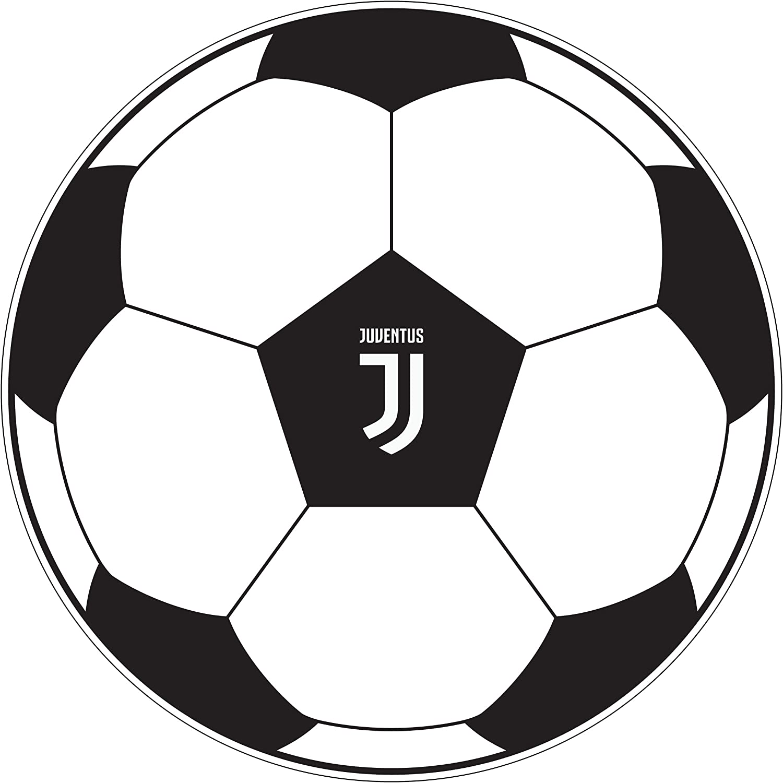 Juventus Turyn - Cojín con Forma de balón de fútbol: Amazon.es: Hogar
