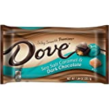 DOVE PROMISES Sea Salt Caramel and Dark Chocolate Candy 7.94-Ounce Bag (Pack of 2)