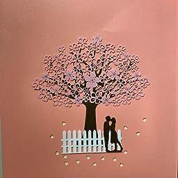 Amazon バースデーカード 桜の木 メッセージカード 大切な人に感謝の手紙を 3d 立体カード 誕生日カード 手紙 卒園式 卒業式 母の日 成人式お祝い プロポーズ 結婚式 結婚記念日など幅広い用途に 誕生日かーど 飛び出すメッセージカード 花の立体カード 母