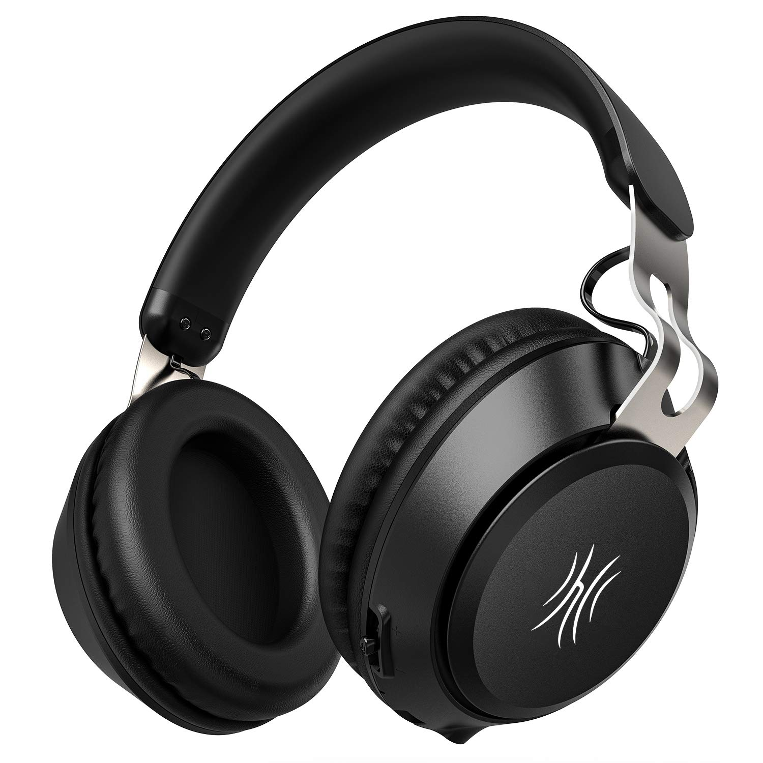 OneOdio Wireless Headphones Over Ear, 15Hr Play Time, Lightweight, Bluetooth 5.0 Hi-Fi Stereo Headphones with Built in Mic, Supports Hands-Free Calling and Wired Mode for iPhone/iPad/PC/Cell Phones/TV