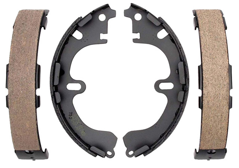 ACDelco 17750B Professional Durastop Bonded Rear Drum Brake Shoe Set