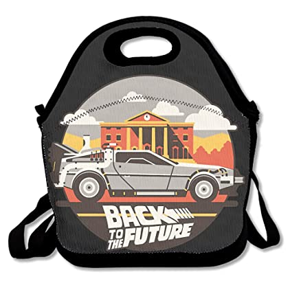 1cd2eda6fd14 Amazon.com  Back To The Future Lunch Bag Lunch Box Lunch Tote Lunch ...