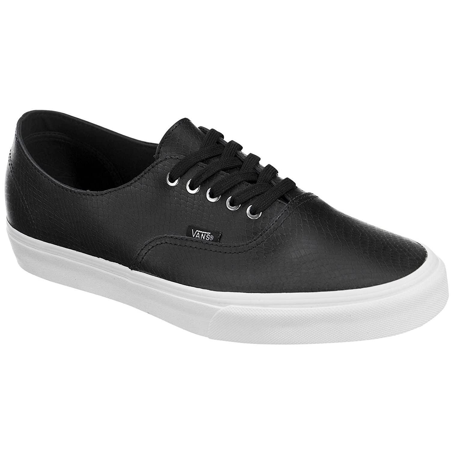 a212833307be50 Vans Womens Authentic Decon Leather Trainers  Amazon.co.uk  Shoes   Bags