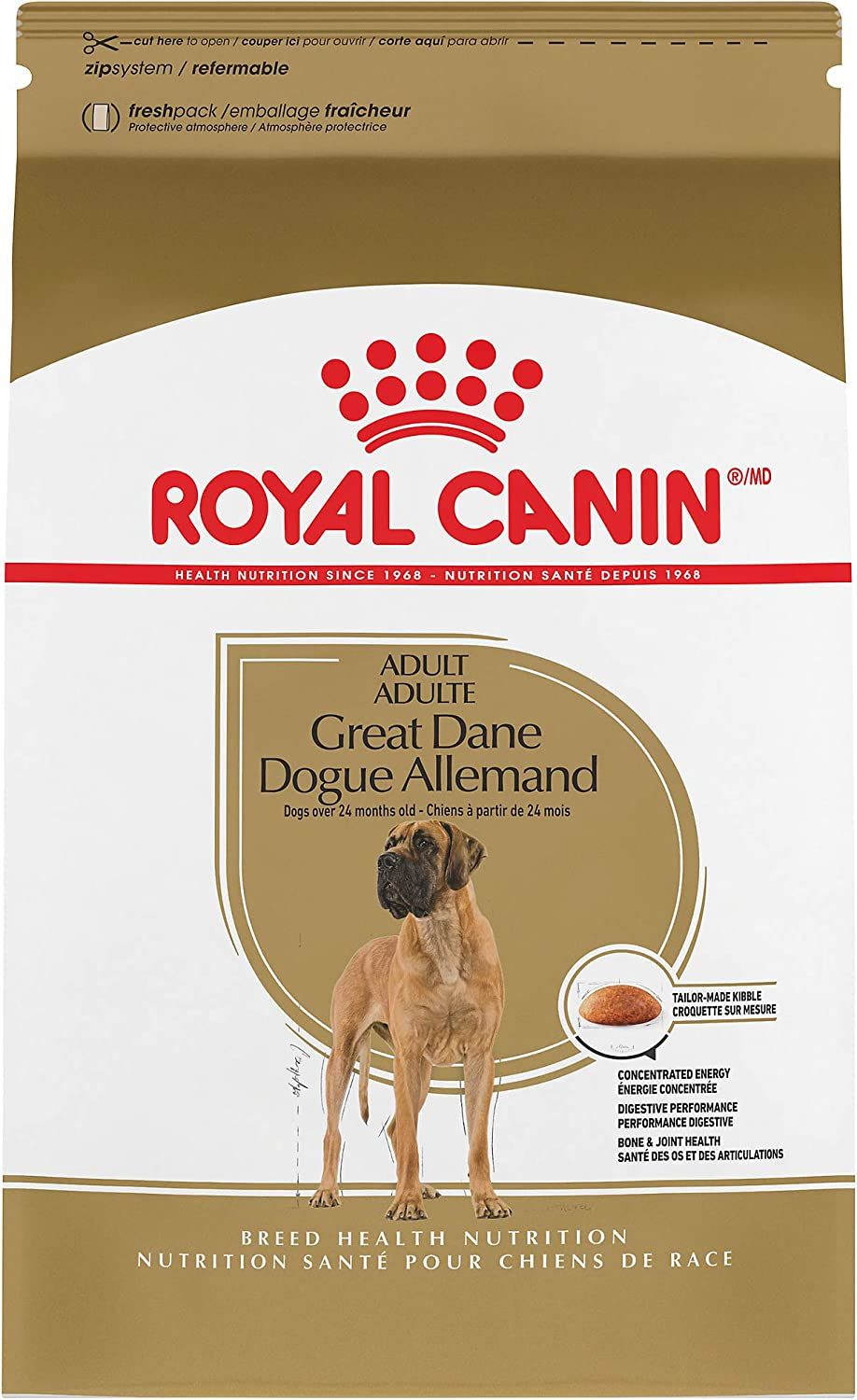 3. Royal Canin Great Dane Adult Dry Dog Food