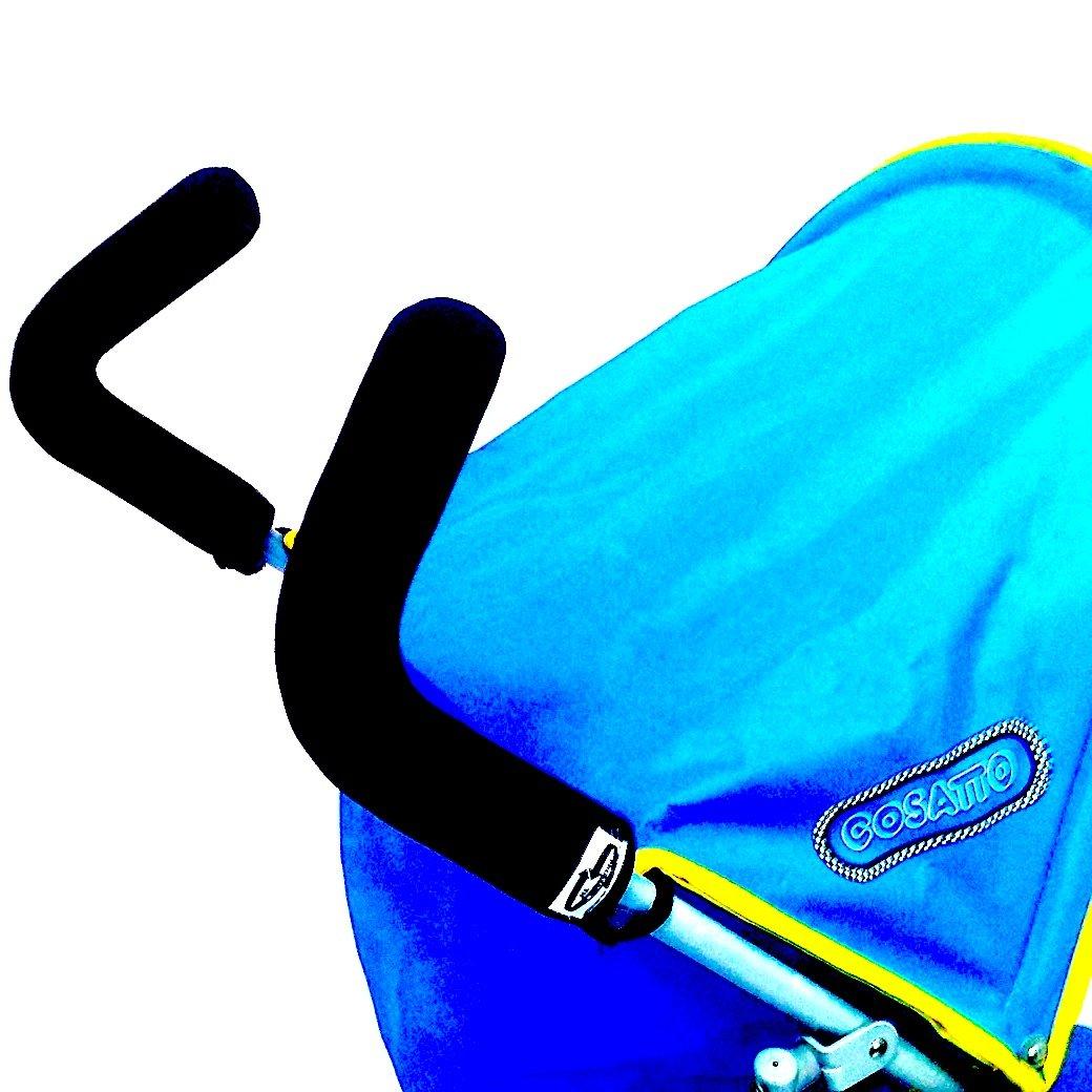 Fundas protectoras de neopreno para manillar de silla de paseo Cosatto Extra Largo (se pone encima de la goma original) Protec-tif