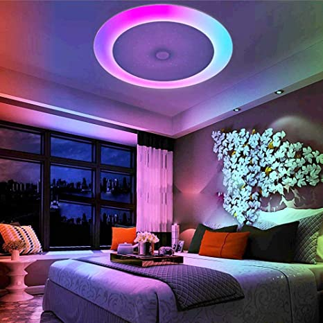 LightInTheBox 36W Ceiling LED Light 408 LEDs Bluetooth Speaker Remote Control RC Dimmable