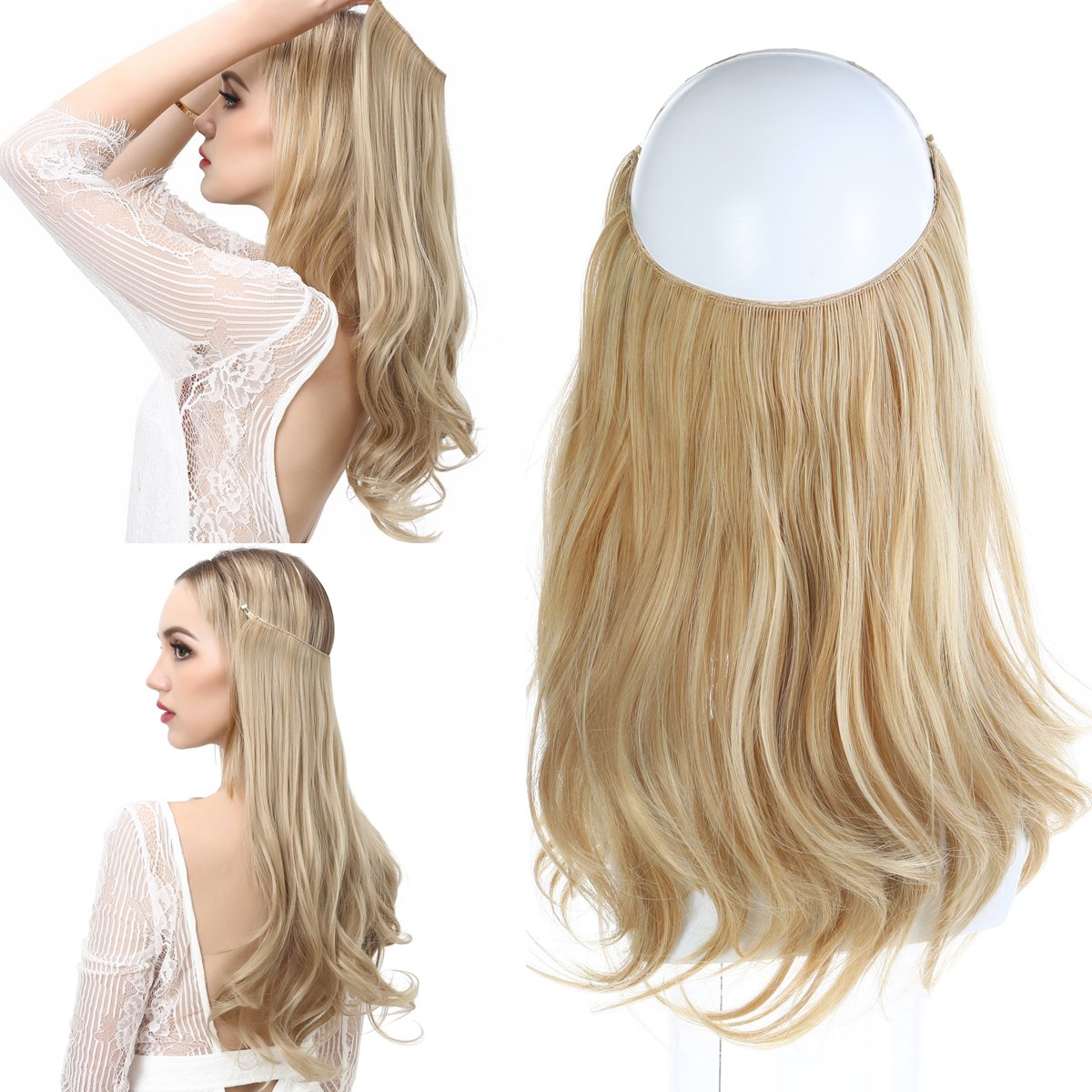 Amazon 14 Clip In Hair Extensions Remy Human Hair For Women