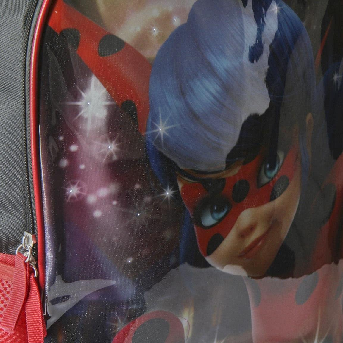 Miraculous Ladybug Backpack with LED Light Large School Bag 41 Centimeter Official