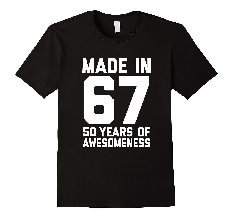 50th Birthday Shirt Gift Age 50 Year Old Mens Womens Tshirt-FL