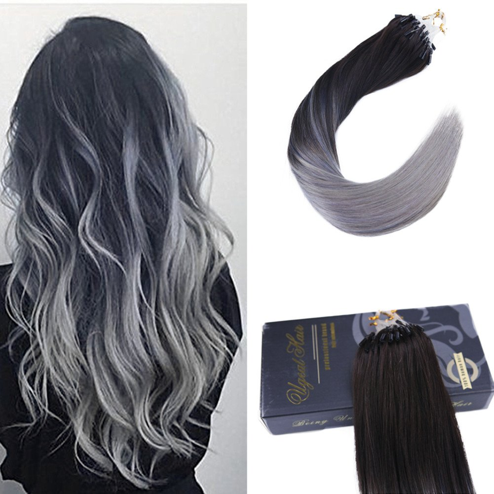 Ugeat 14inch 1g Per Strand 50 Gram Per Package Micro Ring Links Hair