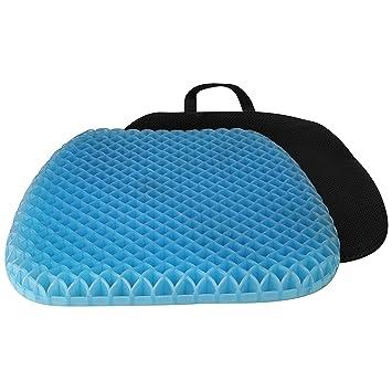 Amazon.com: Almohadilla de asiento ortopédica de gel para ...