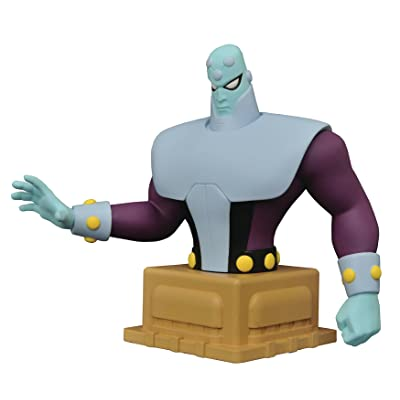 DIAMOND SELECT TOYS Superman Animated Series Brainiac Resin Figure Bust: Toys & Games
