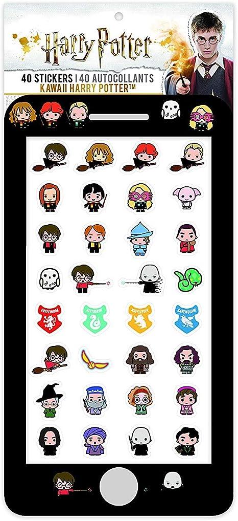 Cinereplicas Harry Potter Aufkleber Set Mit 40 Sticker Spielzeug