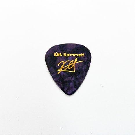 Kirk Hammett impreso con sello Plectrum Púa De Guitarra púas para guitarra leyenda, PURPLE PEARL