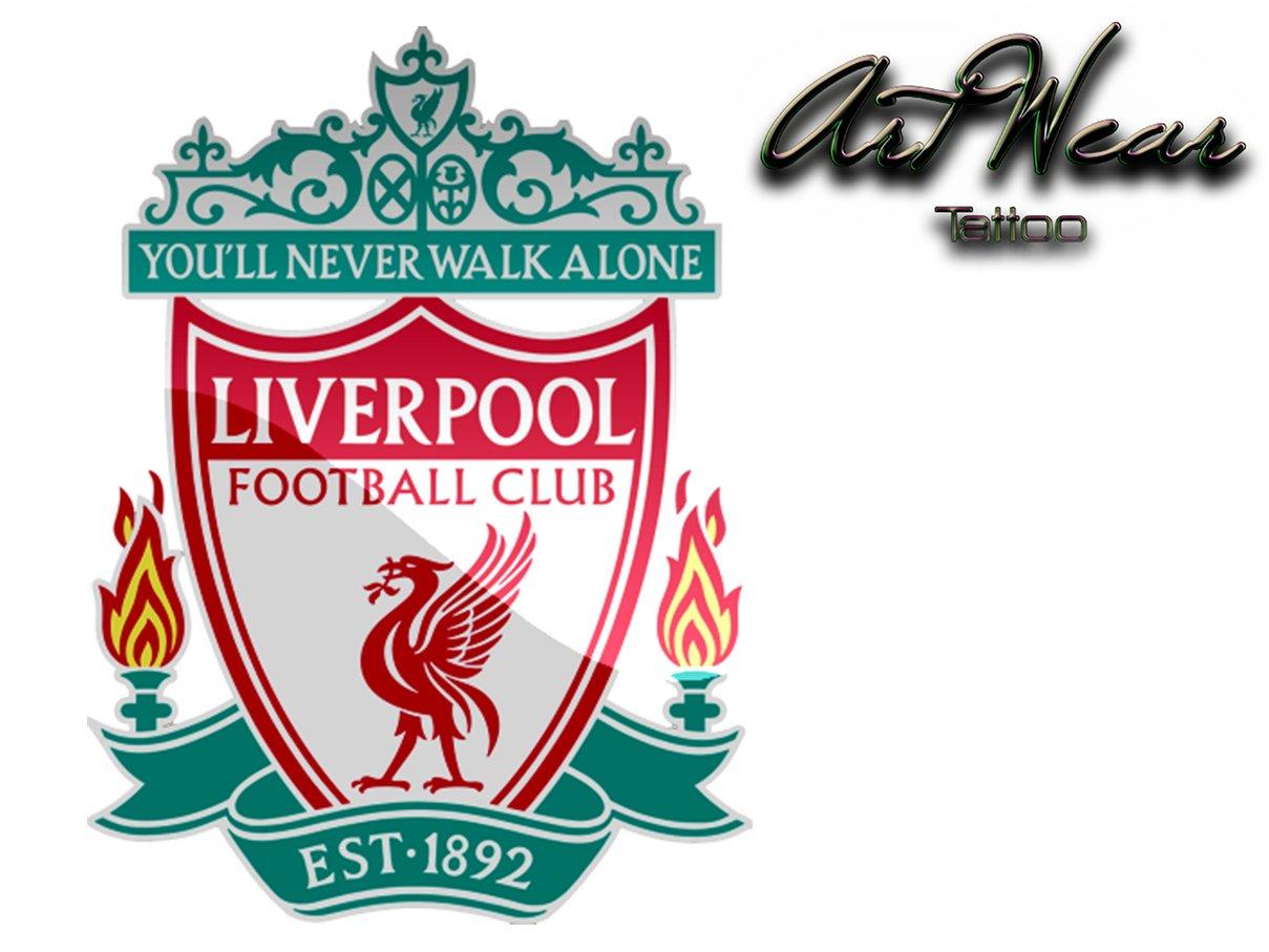 Tatuaje Temporal Equipe fútbol – Inglaterra Liverpool Fc – artwear ...