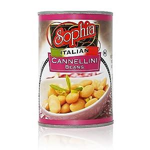 Sophia Italian Beans - Cannellini 14oz (12-pack)