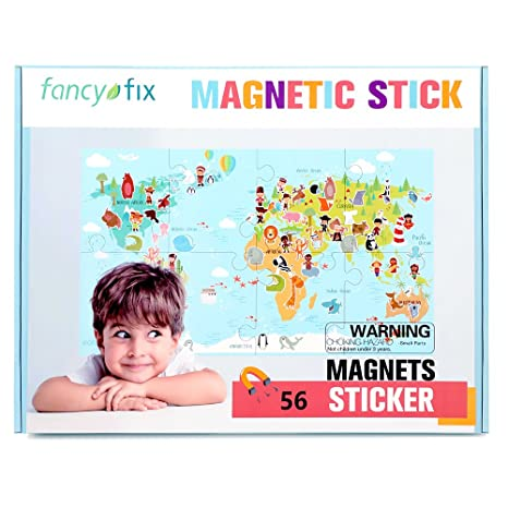 Amazon.com: fancy-fix Magnetic World Map Puzzle for Kids ... on dry erase wall maps, red wall maps, home wall maps, blue wall maps, creative wall maps, magnetic us maps, glass wall maps, vinyl wall maps, wood wall maps, laminated wall maps, electronic wall maps, paris wall maps,