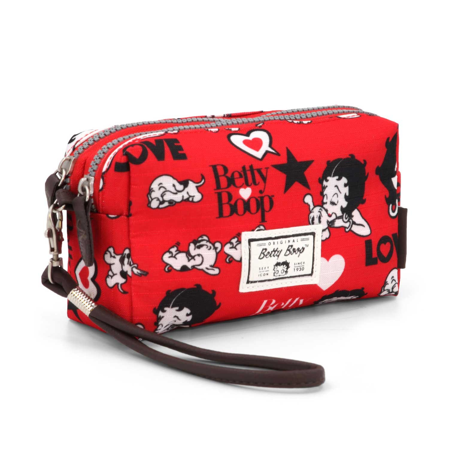 Betty Boop Rouge Trousse de Toilette, 19 cm, (Rojo) Karactermania 36405