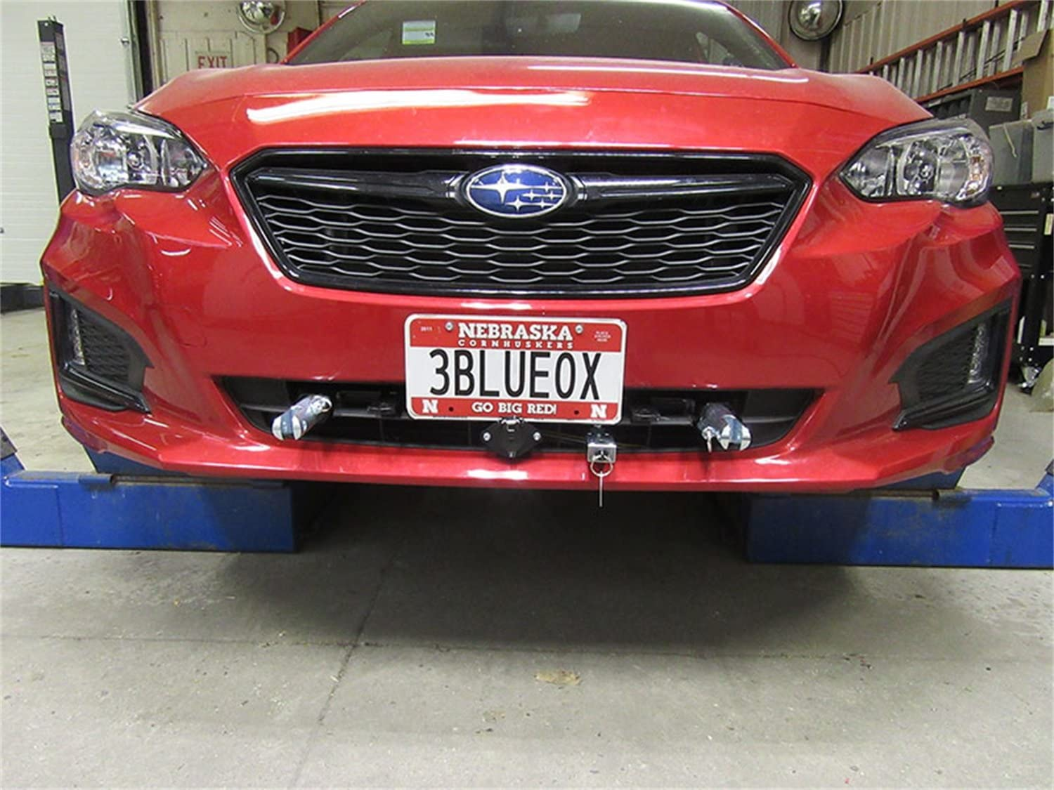 Tow Bar Base Plate Removable Attachment Tabs Install Time 3 hrs Blue Ox BX2265 Tow Bar Base Plate Incl