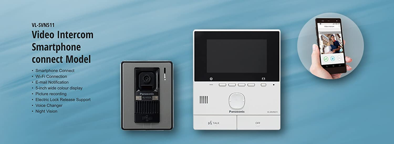 Panasonic Video Intercom System With Smartphone Connect Vl Svn511sx Vdp Wiring Diagram Home Improvement