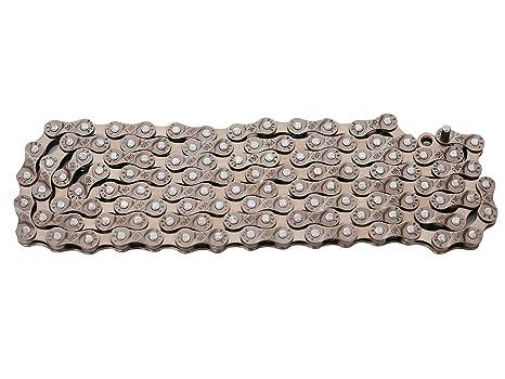 ZHIQIU FSC 6,7,8 Speed 116L Bike Chains 1//2x3//32-Inch Silver,Gold