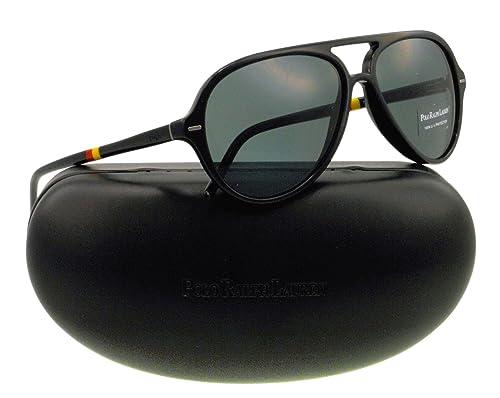 Amazon.com: anteojos de sol Polo Ralph Lauren PH 4062 Negro ...