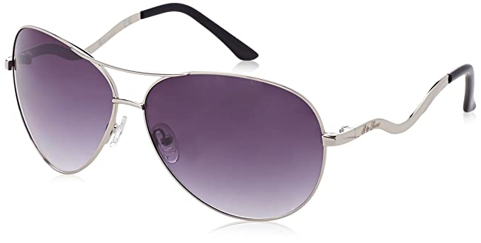 GUESS GG1062, Gafas de Sol para Mujer, Gris (Grigio), 63