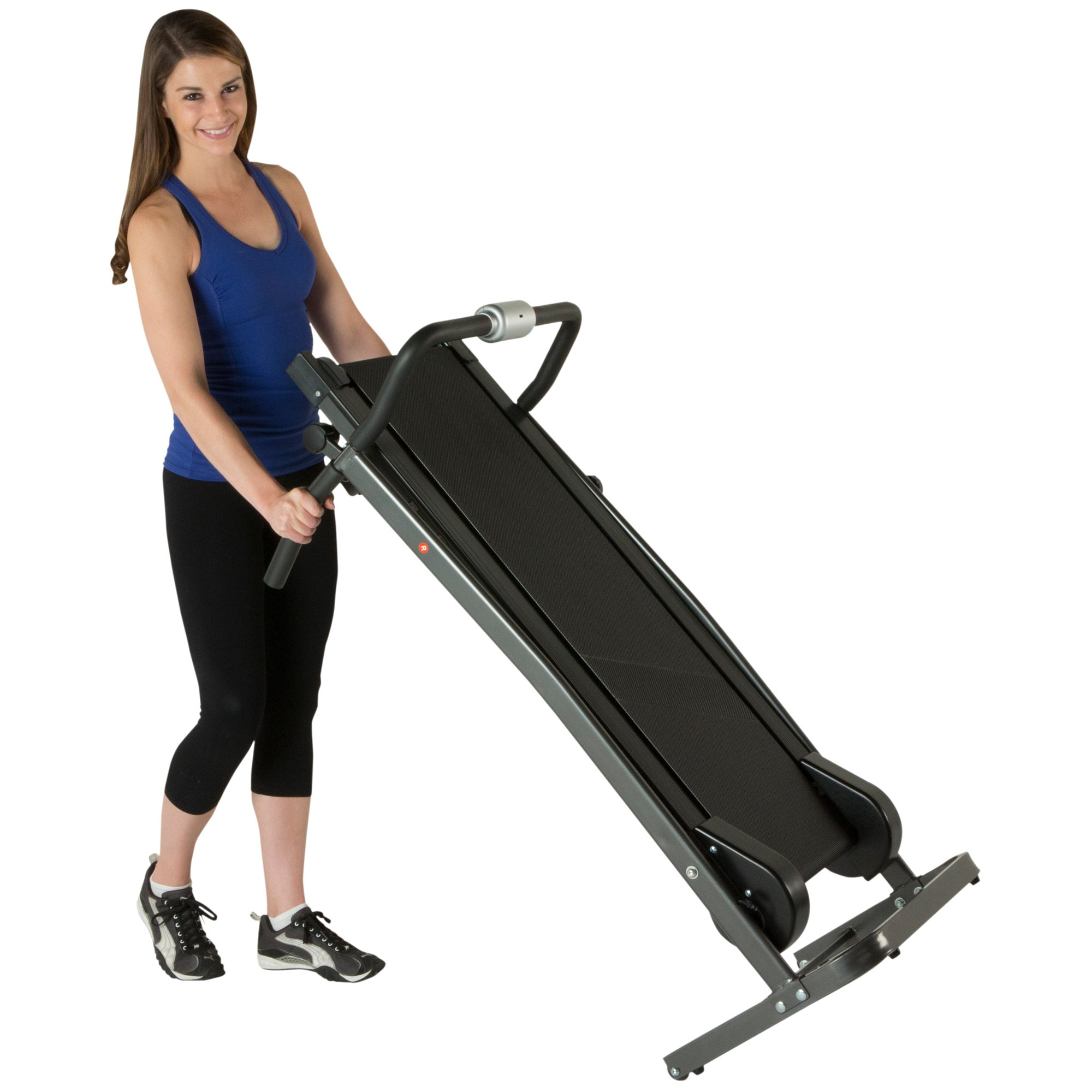 Fitness Reality TR1000 Manual Treadmill with 2 Level Incline & Twin Flywheels by Fitness Reality (Image #7)