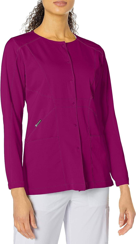 Top 10 Wonderwink Hp Prism Snap Front Women's Scrub Jacket