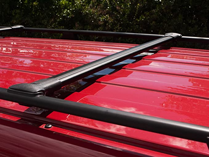 Van Demon Aluminium Roof Rails Pair Roof Bars Fits VW Transporter T5 LWB 03-15