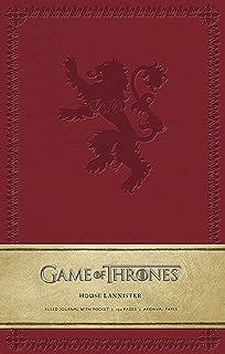Game of Thrones: House Targaryen Hardcover Ruled Journal ...